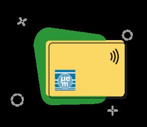NXP I-Code RFID Karten, 13,56 Mhz